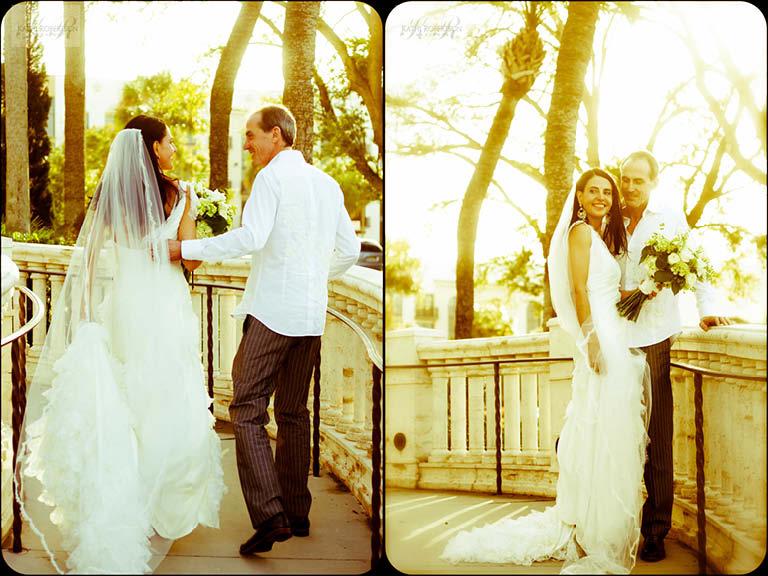 Christina & David at Orlando Ritz Carleton