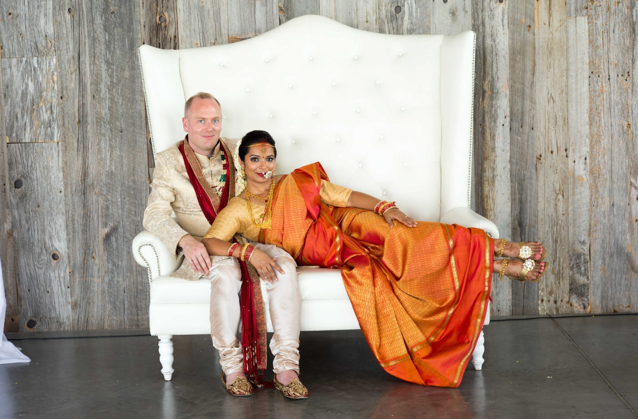 Radha & Stephane at The Horticulture Building