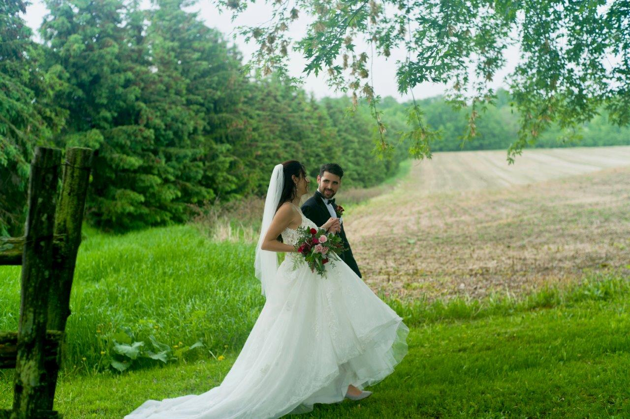 evermore weddings bride groom landscape photo