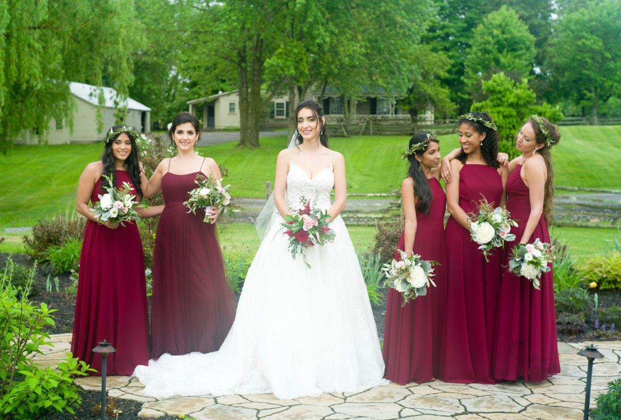 evermore weddings wedding party bridesmaids