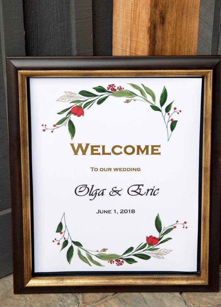 evermore weddings welcome to olga eric wedding