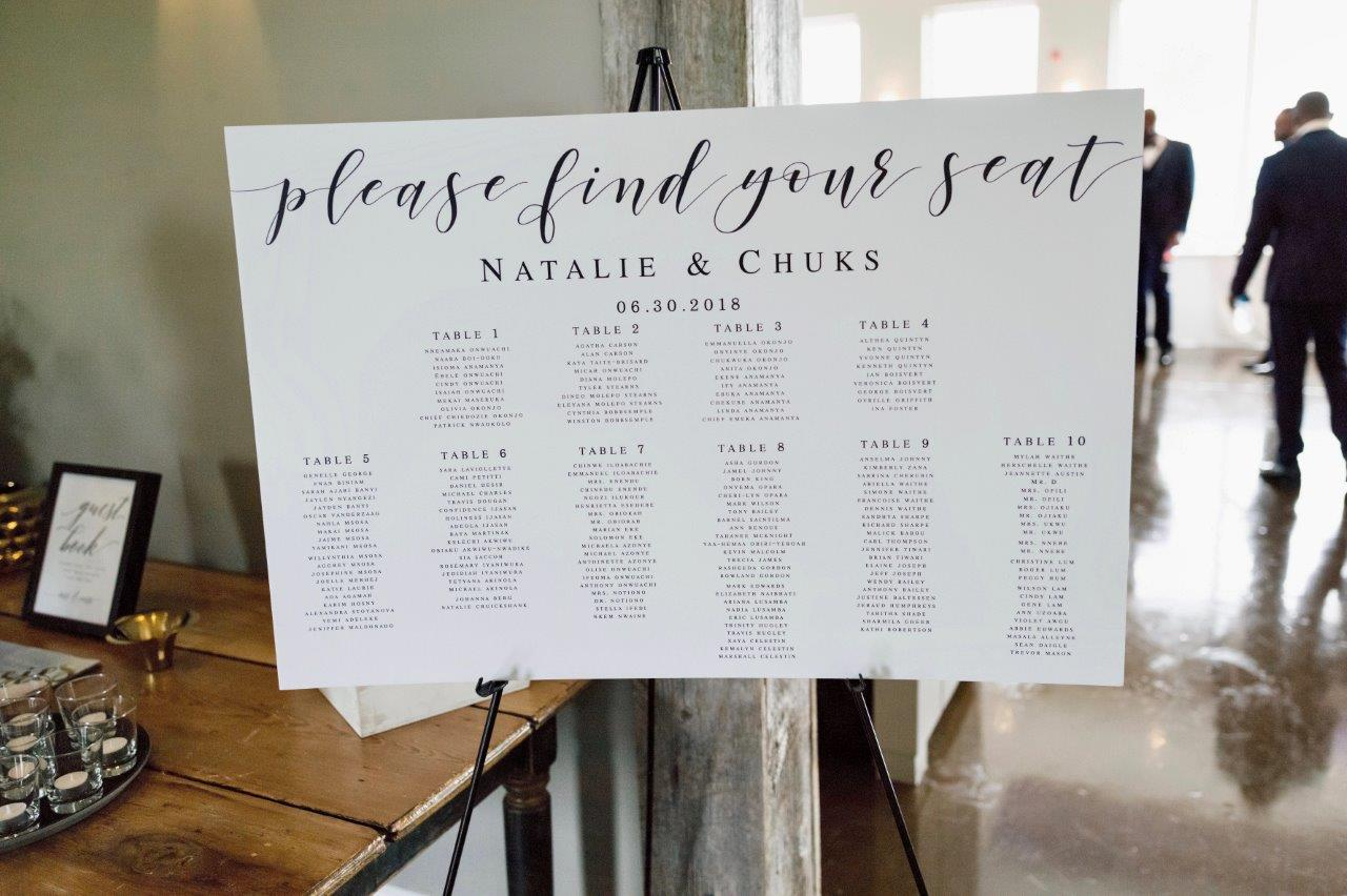 kathi robertson wedding le belvedere seating chart