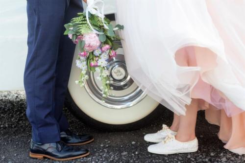 brides feet white flat shoes kathi robertson